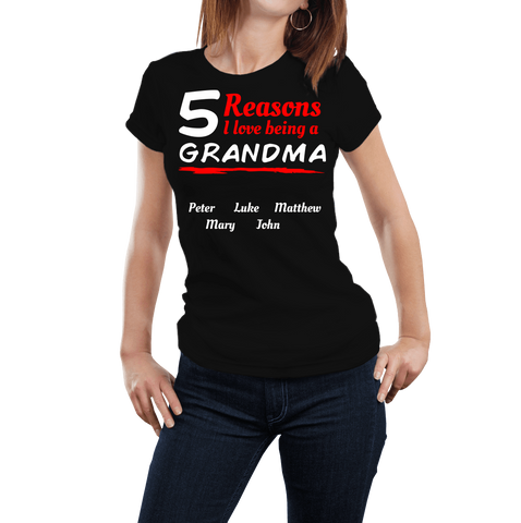 # Of Reasons I Love Being A Grandma - Discount Store Pro - 1