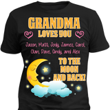 Custom Moon And Back With Grandkids Names - Discount Store Pro - 2