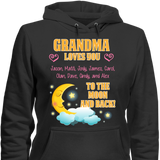 Custom Moon And Back With Grandkids Names - Discount Store Pro - 4