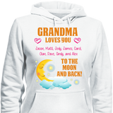 Custom Moon And Back With Grandkids Names - Discount Store Pro - 3