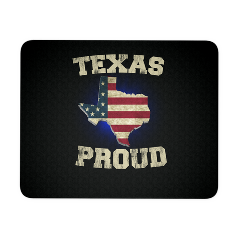 Texas Proud Mouse Pad