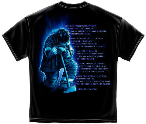Firefighter Prayer Tee