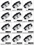 Special Offer Stainless Zodiac Bracelets