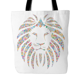 Premium Colorful Lion Totebags