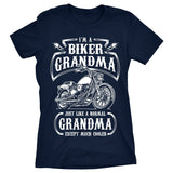 I'm a Biker Grandma. Just Like a Normal Grandma Except Much Cooler - Discount Store Pro - 4