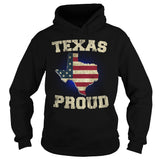 Texas Proud Tees and Hoodies