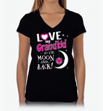 Love My Grandkid To The Moon And Back 1GrandChild - Lot 33