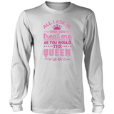 Queen B District Long Sleeve Tee