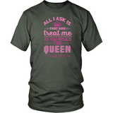 Queen B Unisex District Tee