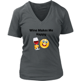 Wine Makes Me Happy Tee