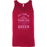Queen B Canvas Unisex Tank