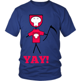 Designs By Clayton - YAY! T-shirt