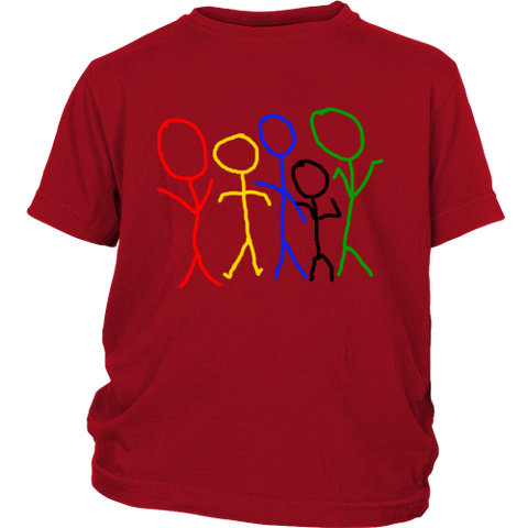 Rainbow People Child's Tee