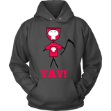 Designs By Clayton - YAY! Hoodie