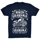 I'm a Biker Grandma. Just Like a Normal Grandma Except Much Cooler - Discount Store Pro - 2