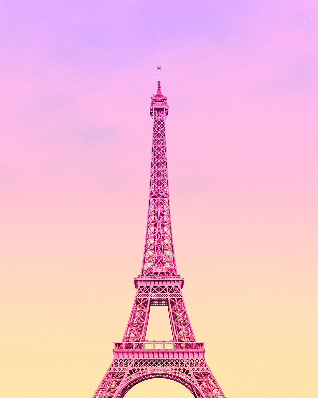 Eiffel Sunset