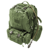 """Big Monkey"" Military Tactical Backpack - 3 Bonus MOLLE Bags - 2.5L Hydration Water Bladder System Included. By Monkey Paks™"