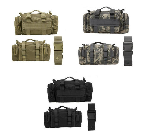 Military Fanny Molle Shoulder Pack with belt.