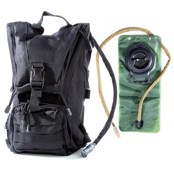 Hydration Pack with 2.5L Bladder and 2 Additional Pockets By Monkey Paks™