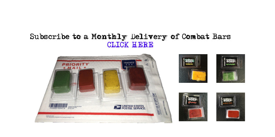 Subscribe to a Monthly Delivery of Combat Bars!