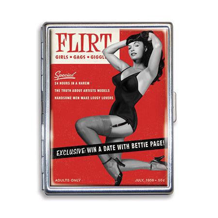 Bettie Page Flirt Cigarette Case