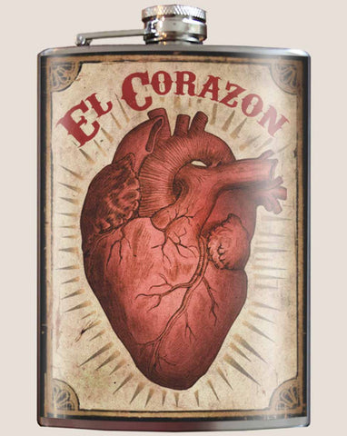 """El Corazon"" Flask"
