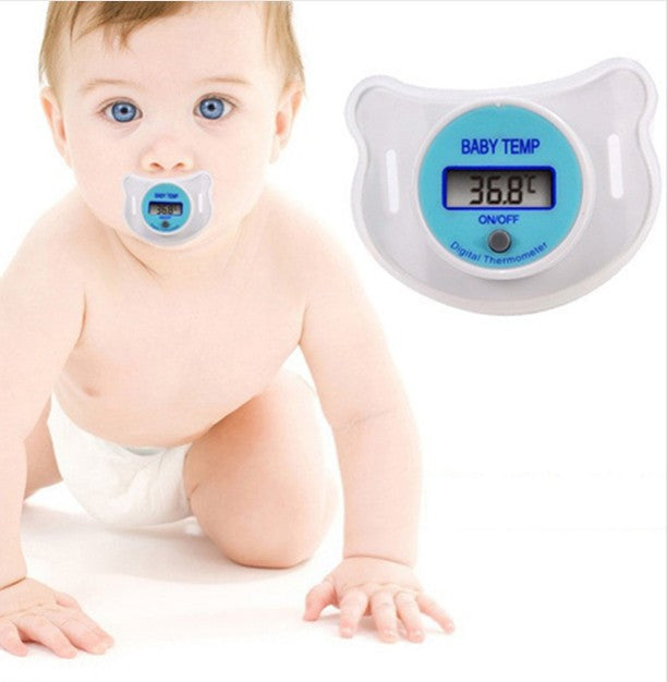 Baby Pacifier LCD Digital Nipple Thermometer