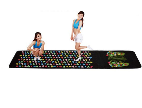 Colorful Plastic Foot Massage Pad