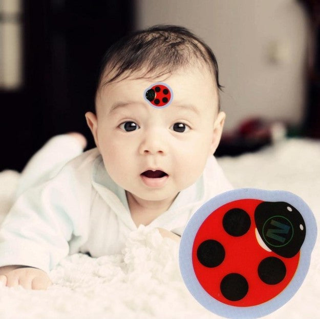 Baby Cartoon Forehead LCD Thermometer