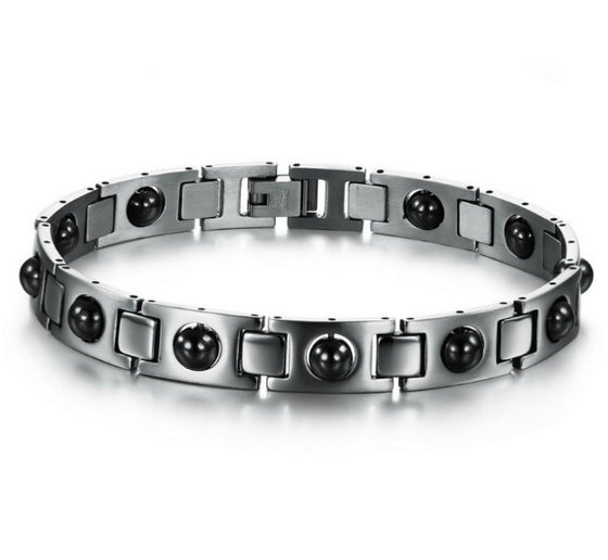 Black Health Magnetic Men Jewelry