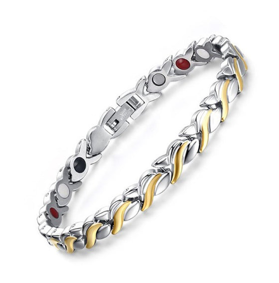 Health Magnetic Stainless Steel Bracelet