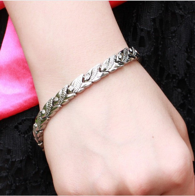 Women's Health Energy With Magnetic Stone Bracelet