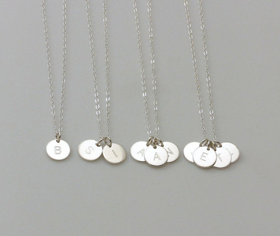 Silver Charms Necklaces