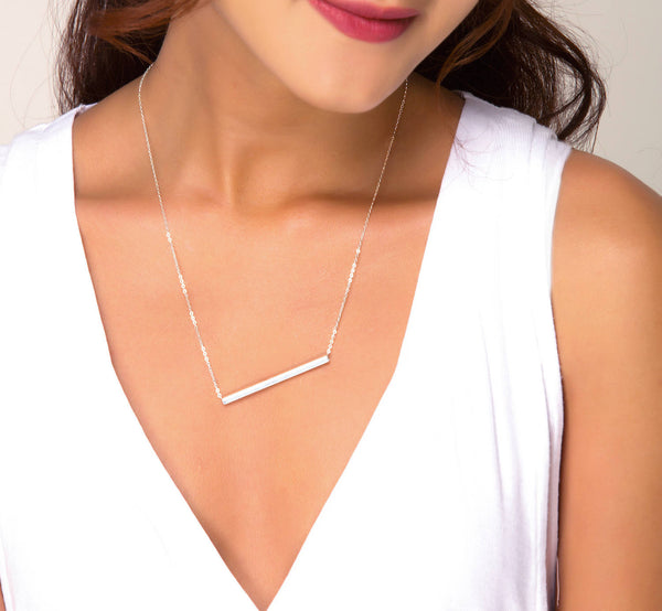 Square Tube Necklace