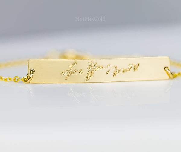 Signature Handwriting Bracelet