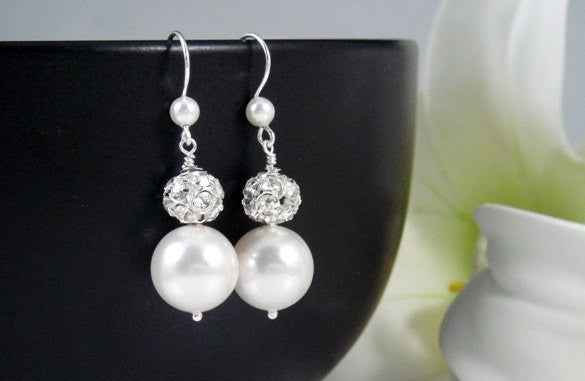 Bailey Bridal Earrings