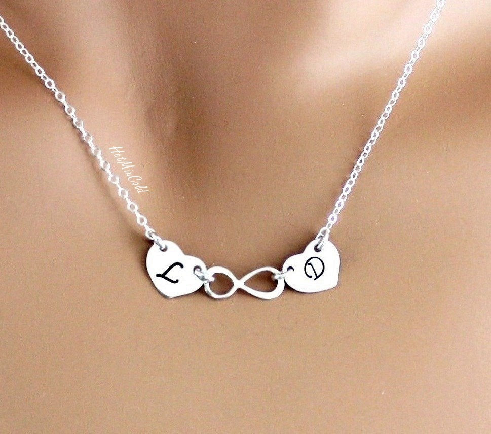 Hearts Infinity Necklace