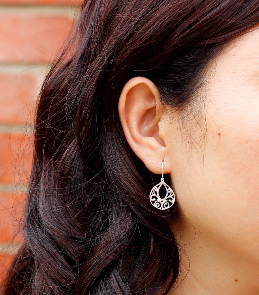 Dainty Filigree Earrings