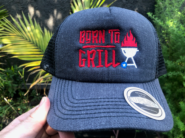 Born To Grill Trucker Hat