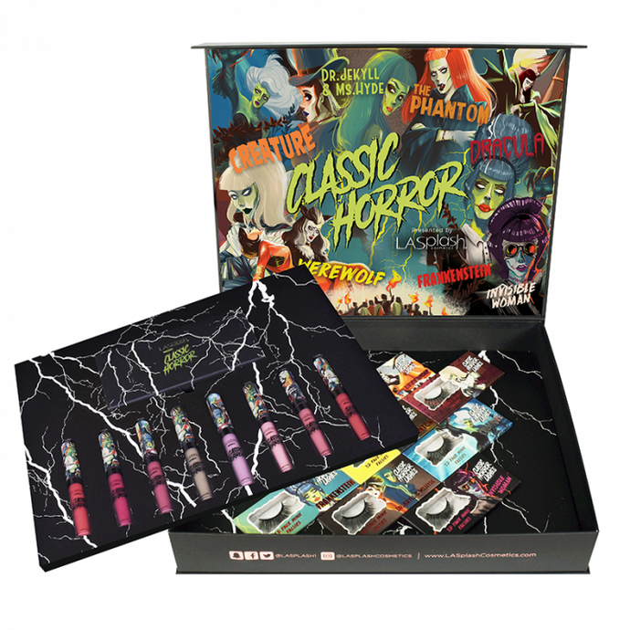 NEW Classic Horror Limited Edition Collection Box