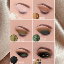Load image into Gallery viewer, GOLDEN GATSBY GLAM EYESHADOW PALETTE (10 piece)