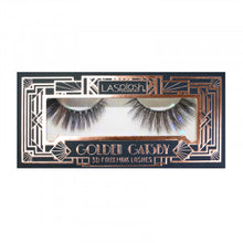 Load image into Gallery viewer, Golden Gatsby 3D Faux Mink Lashes