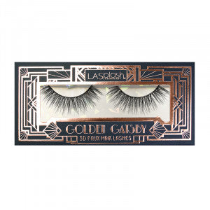 Golden Gatsby 3D Faux Mink Lashes