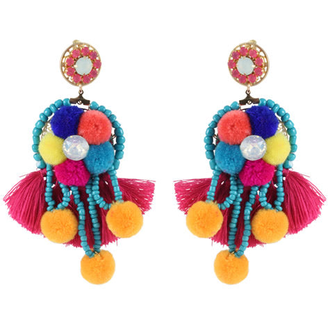Carnivale Multi-Colored Earrings