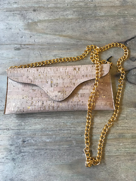 Cork Clutch with Chain