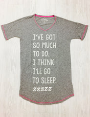 """I Think I'll Go To Sleep"" PJ Shirt"