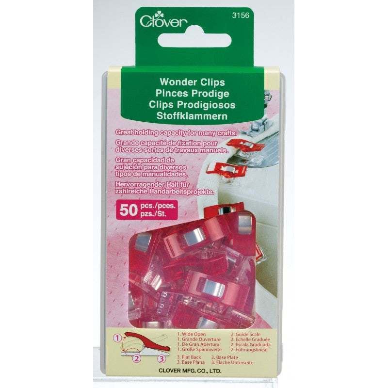 Clover Wonder Clips (50 pcs) Art No. 3156
