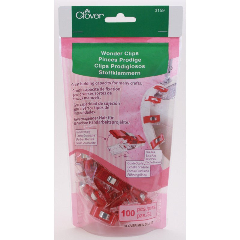 Clover Wonder Clips (100 pcs) Art No. 3159