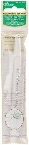 Clover White Marking Pen Art No. 517 (Fine)