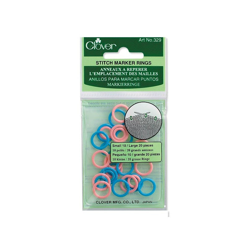 Clover Stitch Ring Markers Art No. 329